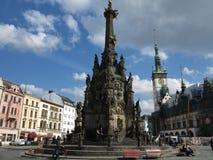 Olomouc city - visit the Czech republic Stock Photos