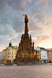 Olomouc, Czech Republic. Holy Trinity Column in the main square of the old town of Olomouc, Czech Republic Royalty Free Stock Photos