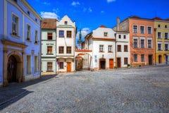 Olomouc, Czech Republic. Streets in the old town of Olomouc, Czech Republic Royalty Free Stock Photo