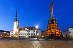 Olomouc, Czech Republic. Town hall in the main square of the old town of Olomouc, Czech Republic Royalty Free Stock Photography