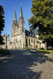 Olomouc, Czech Republic, Wenceslas Cathedral in Olomouc royalty free stock image