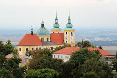 Olomouc. Holy Hill in Olomouc town Stock Images