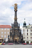 Olomouc - Holy Trinity Column. Holy Trinity Column (inscribe in UNESCO heritage list) on Upper square in city Olomouc, Czech republic Royalty Free Stock Images