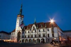 Olomouc Rathaus Stockbild