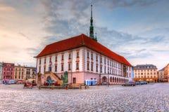 Olomouc, Repubblica ceca fotografia stock libera da diritti