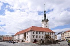 Olomouc town hall Stock Photos