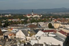 Olomouc Town Hall -city  roofs Royalty Free Stock Images