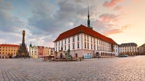 Olomouc, Tsjechische Republiek Stock Afbeeldingen