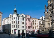 Olomouc  - upper Square Royalty Free Stock Images