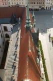 Olomouc urząd miasta - dachy Obrazy Royalty Free