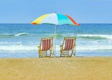 Olon海滩圣埃伦娜厄瓜多尔 库存照片