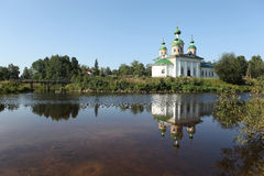 Olonec. Kathedrale unserer Dame von Smolensk stockfotos