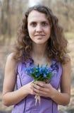 Olor adolescente hermoso de la muchacha Foto de archivo libre de regalías