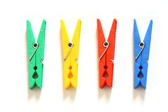 Olor clothes-peg Royalty Free Stock Photos