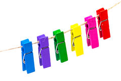 Olor clothes-peg Royalty Free Stock Images