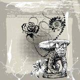 Olor de flores ilustración del vector