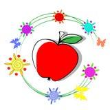Olor de manzanas libre illustration