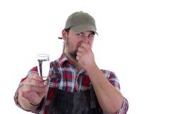 Olor del alcohol fotografía de archivo libre de regalías