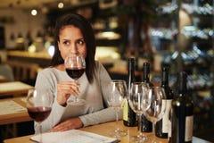 Olor del vino fotos de archivo libres de regalías