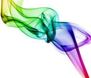 Сolored smoke Stock Photo