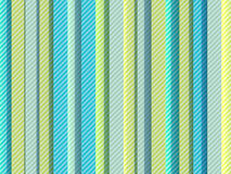 Сolored strips. Vertical colored strips with diagonal pattern Stock Photos