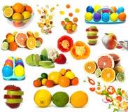 olorful的食物 图库摄影