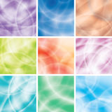 сolorful background set isolated on white Royalty Free Stock Images
