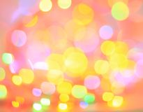 Olorful Bokeh Background Stock Photo