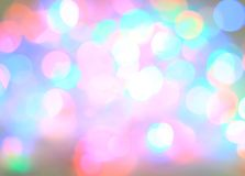 Olorful Bokeh Background Royalty Free Stock Photography