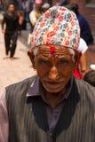 Olorful gammal Nepali för Ð-¡ Arkivfoton