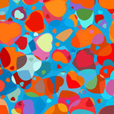 olorful heart vector pattern. EPS 8 Royalty Free Stock Photos