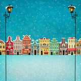 Сolorful town Stock Images