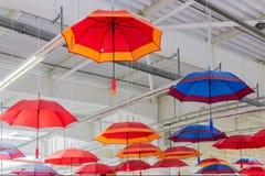 Сolorful umbrellas Royalty Free Stock Photography