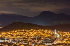 Olot, Girona, CAtalunya, Spanje stock fotografie