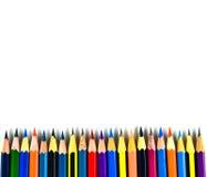 Olour-Bleistifte Lizenzfreie Stockfotos