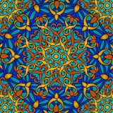 Сolour decorative background with a circular pattern Royalty Free Stock Photography