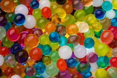 Сoloured texture of  ball, Background color of the hydrogel Royalty Free Stock Photo