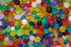 Сoloured texture of  ball, Background color of the hydrogel Royalty Free Stock Photos