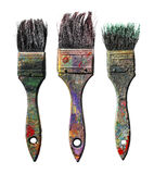 Ols Brushes Royalty Free Stock Images