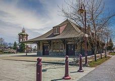 Olsd Train station Royalty Free Stock Images