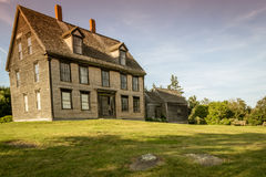 Olsen House, depicted in Christina`s World, Cushing, Maine, 7/6/17 Royalty Free Stock Images