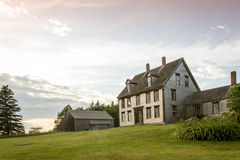 Olsen House, depicted in Christina`s World, Cushing, Maine, 7/6/17 Royalty Free Stock Photos
