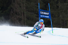 OLSSON Matts (SWE). Alta Badia, ITALY 22 OLSSON Matts (SWE) competing in the Audi FIS Alpine Skiing World Cup MEN'S GIANT SLALOM Royalty Free Stock Photography