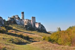 Olsztyn castle Royalty Free Stock Image