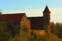 Olsztyn castle Royalty Free Stock Photo