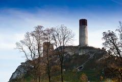 Olsztyn castle Stock Image