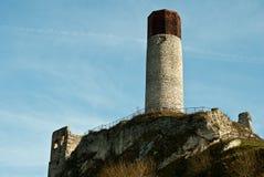 Olsztyn castle Royalty Free Stock Photos