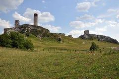 Olsztyn castle Royalty Free Stock Photo