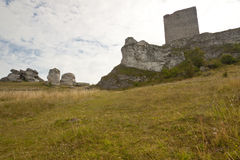 Olsztyn, Jura region - old fortification. Royalty Free Stock Image