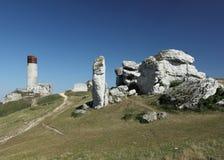 Olsztyn. Poland. The old castle ruins of Olsztyn fortifications, Poland Royalty Free Stock Image